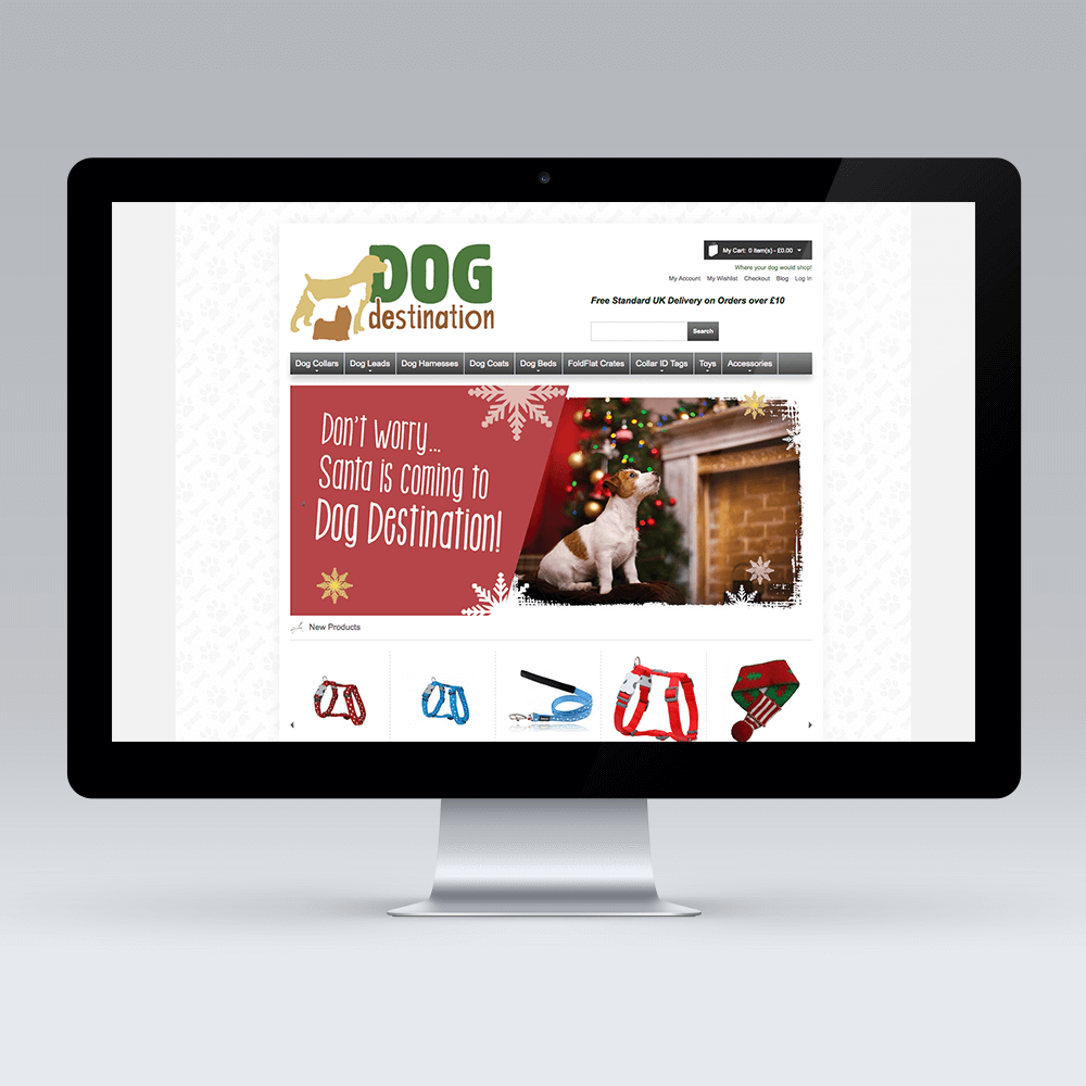 Dog Desintaion Magento Development