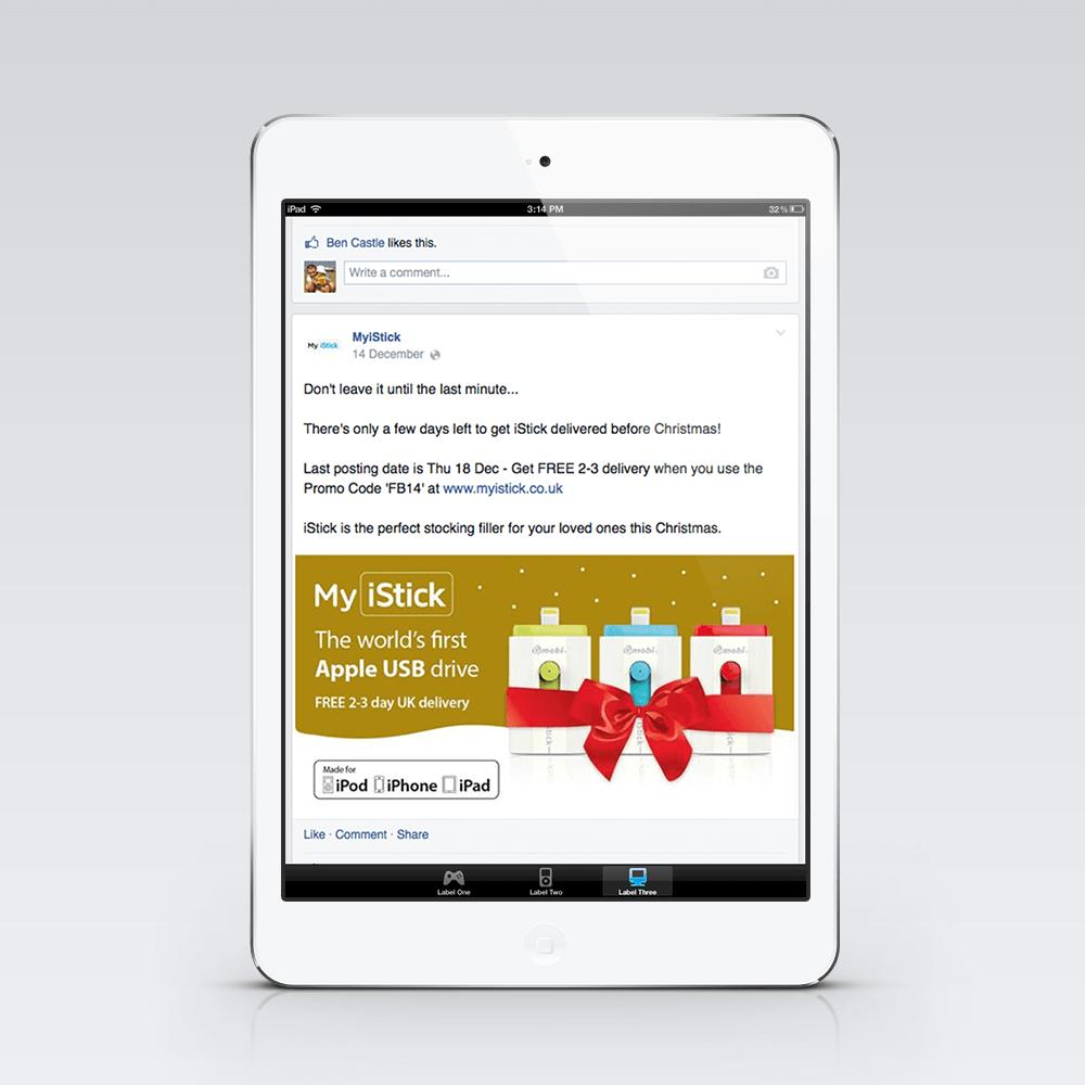 MyiStick - Fully managed Facebook advertising