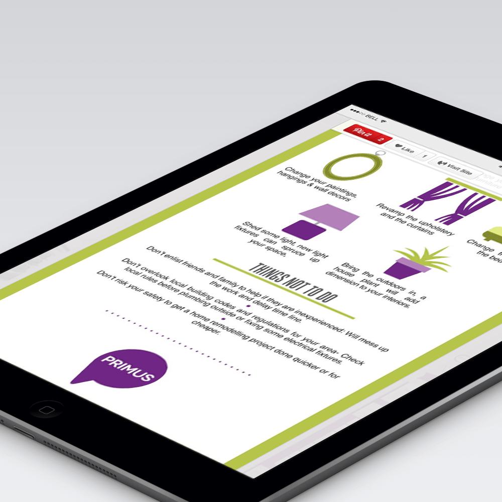 PRIMUS Infographic Design