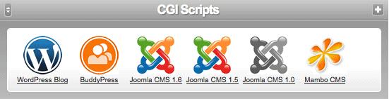 CGI scripts