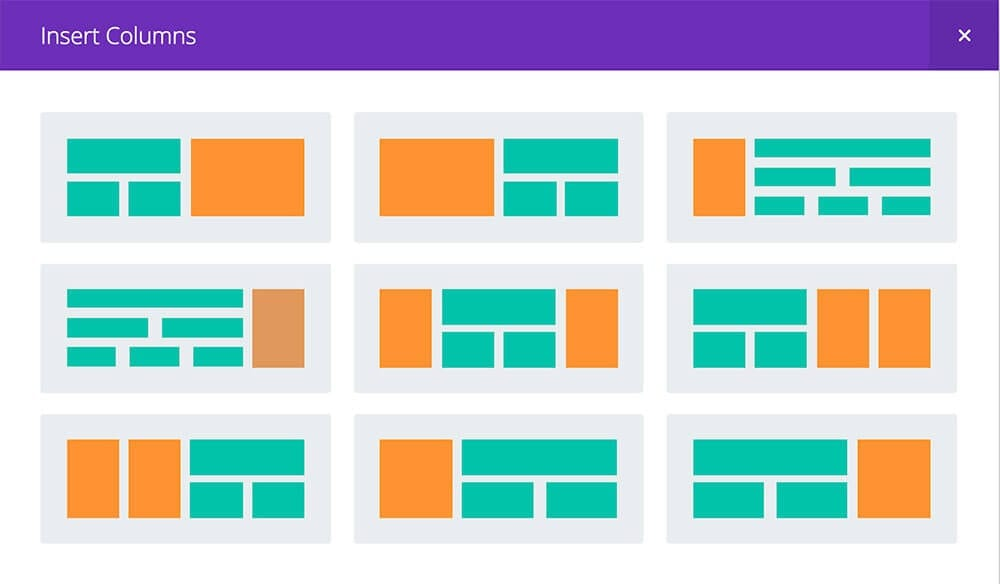 Build your own page layouts