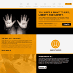 Bespoke WordPress Website Design for Justice Upheld