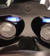A virtual reality headset