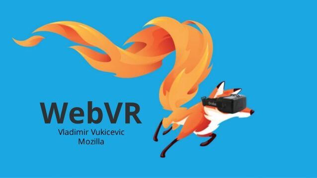 Mozilla's WebVR
