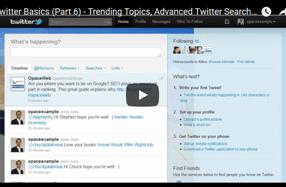 Twitter Basics - Part 6