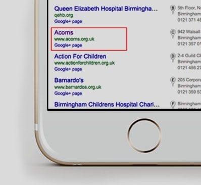 Acorns children's hospice portfolio 3