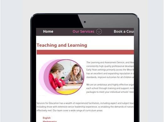 Services for Education Portfolio 1