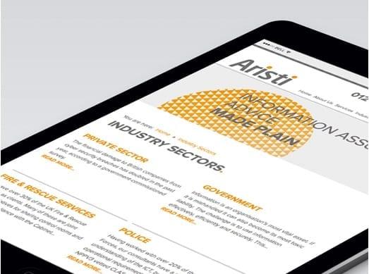 Aristi Mobile Design and Copywriting