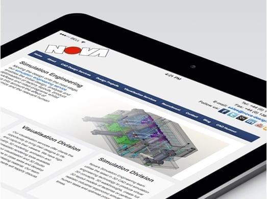 Nova Design Tab view
