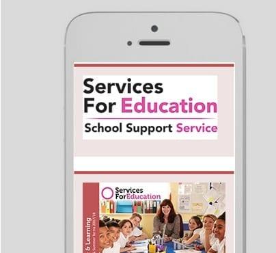 Services for Education Portfolio 3