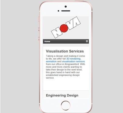 Nova Design Mobile Design