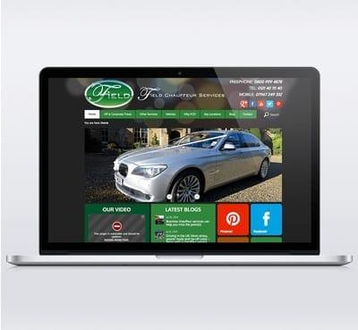 Field Chauffeur Services Web Design