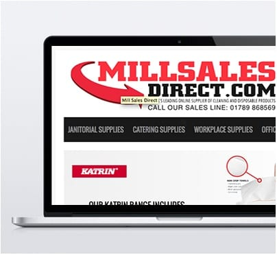 Mill Sales Direct Magento Design - Product page