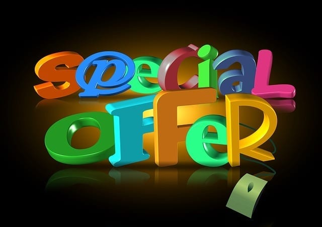 online advertising strategies free offer